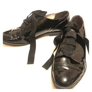 TopShop Patent Leather Loafers